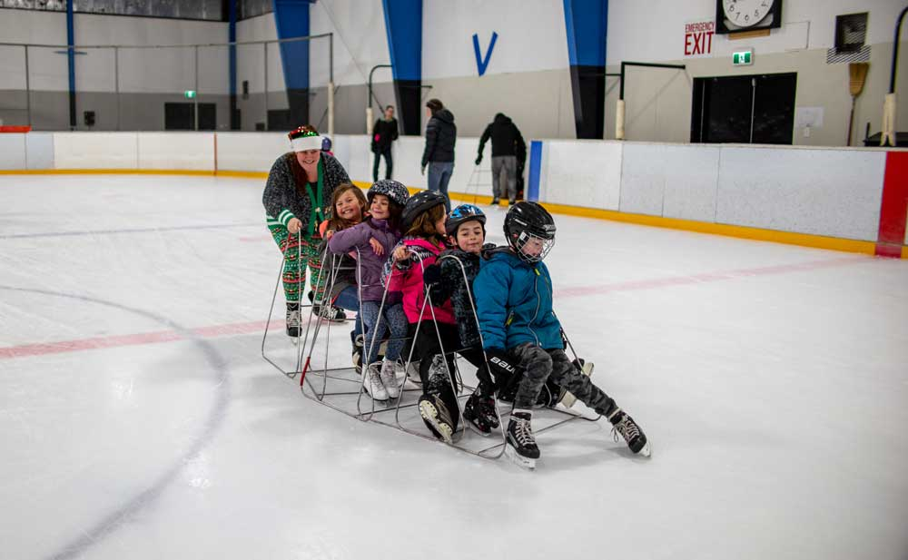 Holiday Family Skate on December 8th